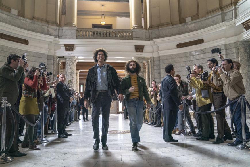 Кадр из фильма «Суд над чикагской семеркой»