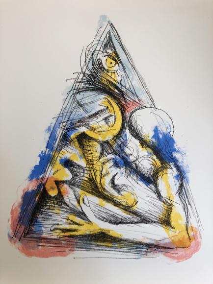 Игорь Макаревич (Shaltai Editions) «Композиция с серпом и молотом» из серии Триптих «Магия социальных утопий», 2018
