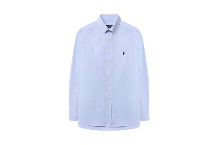Хлопковая рубашка Ralph Lauren, 6995 руб. (ЦУМ)