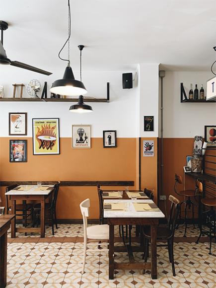 Ресторан Santo Palato, Рим