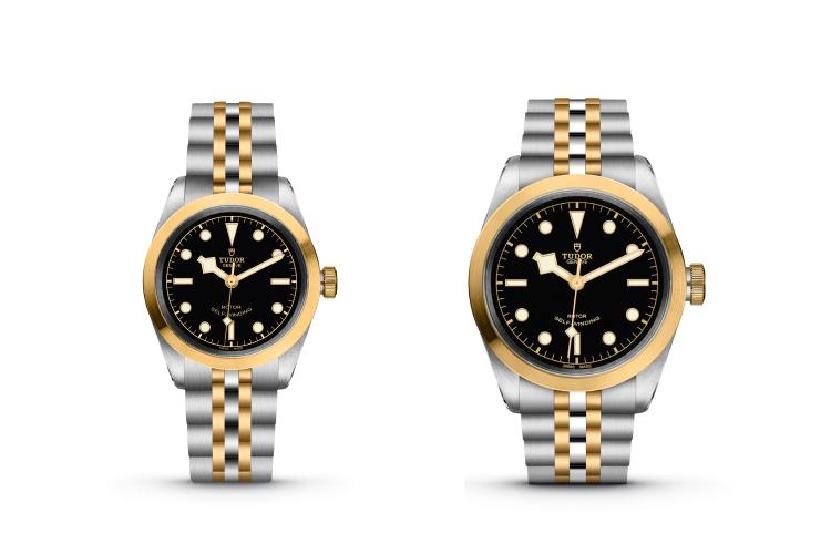 Часы Black Bay 32 S&G и Black Bay 41 S&G, Tudor