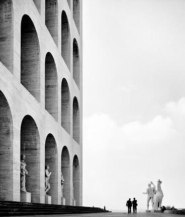 Элио Чиол. Квартал всемирной выставки. Рим, 1955