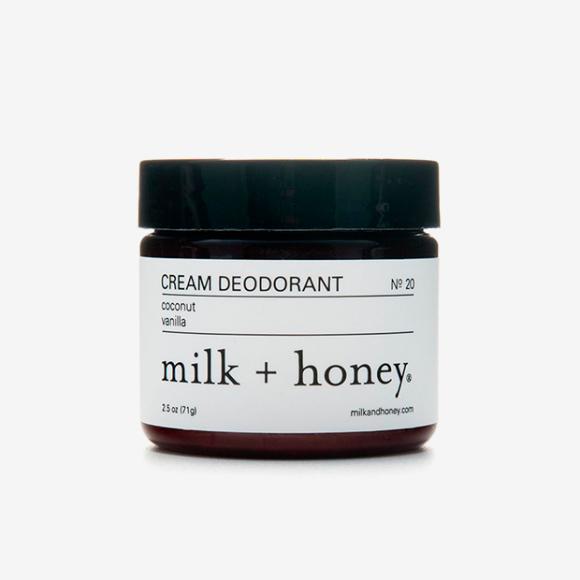 Кремовый дезодорант Coconut-Vanilla, Milk+Honey