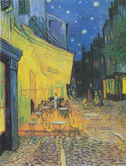 Винсент ван Гог. «Ночная терраса кафе»