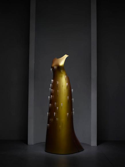 Хуссейн Чалаян, платье «Кайкаку», осень-зима 2011-2012