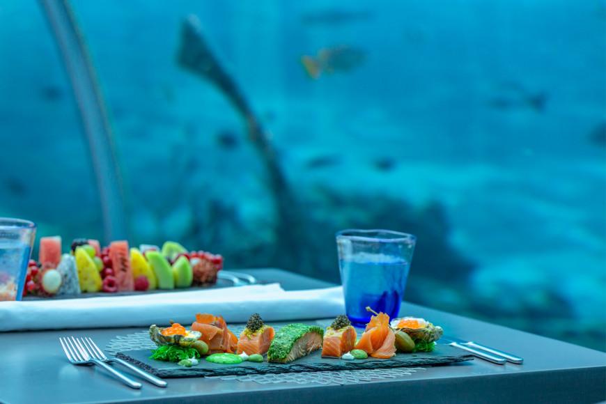 Подводный ресторан «5.8»