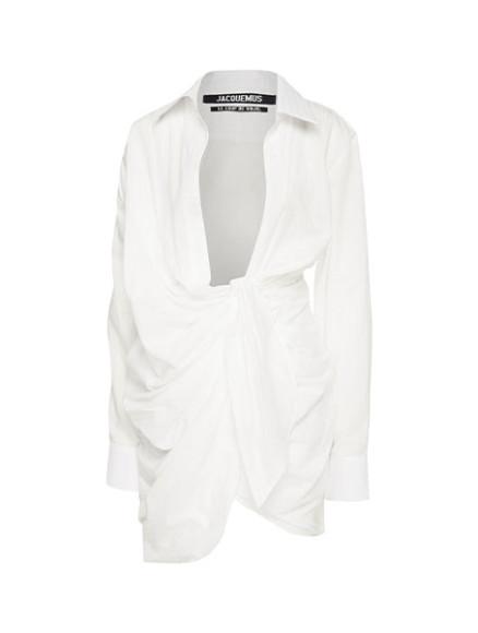 Платье Jacquemus, 35 300 руб. (aizel.ru)