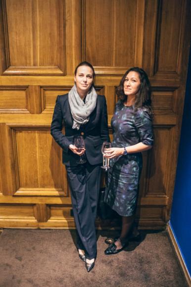 Наталья Починок, ректор РГСУ, Екатерина Земцова, совладелица агентства Elephant Production