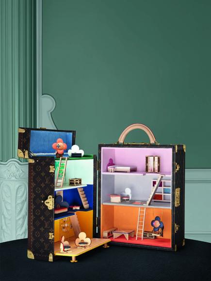 Сундук-кукольный домик