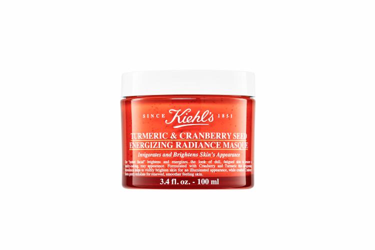 Маска для мгновенного сияния кожиTurmeric & Cranberry Seed Energizing Radiance Masque, Kiehl's