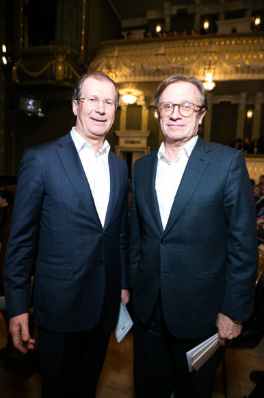 Виктор Шкулев и Борис Белоцерковский