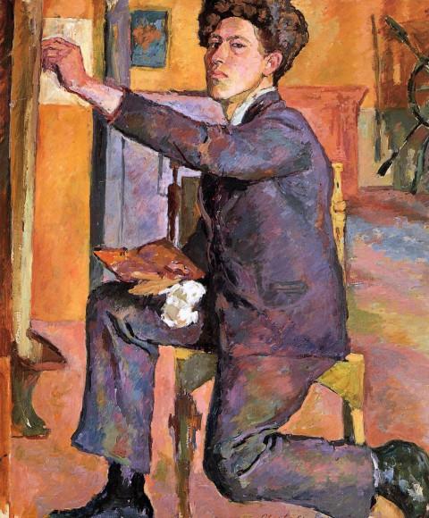 Альберто Джакометти. «Автопортрет», 1921