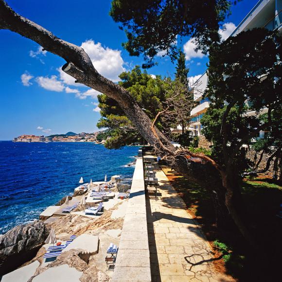 Villa Dubrovnik — небольшой и очень уютный отель с прекрасными видами на Адриатическое море