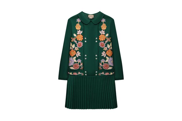 Шерстяное платье Gucci, 129000 руб. (ЦУМ)