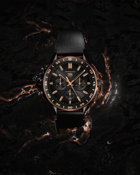 Часы Connected Bright Black Edition, TAG Heuer