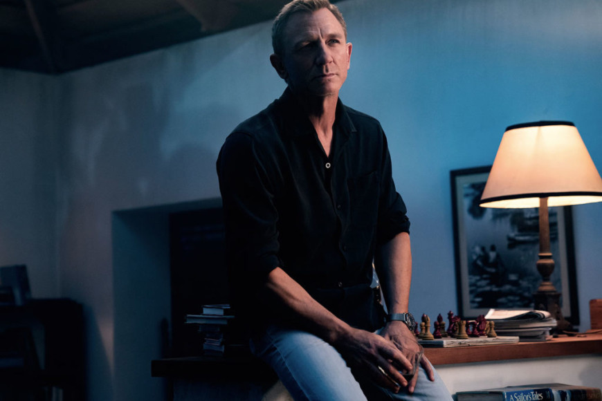Джеймс Бонд в рубашке Tom Ford