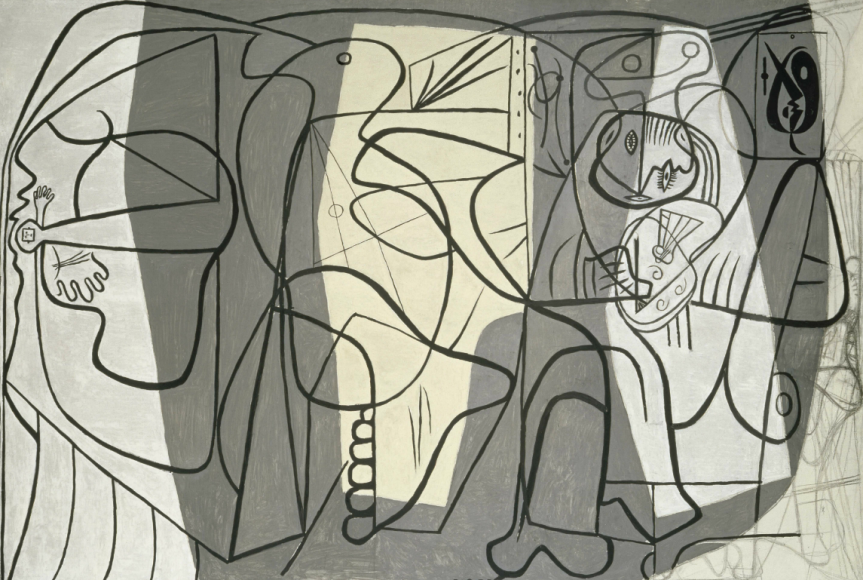 Пабло Пикассо. Художник и модель. Париж, 1926 Национальный музей Пикассо, Париж