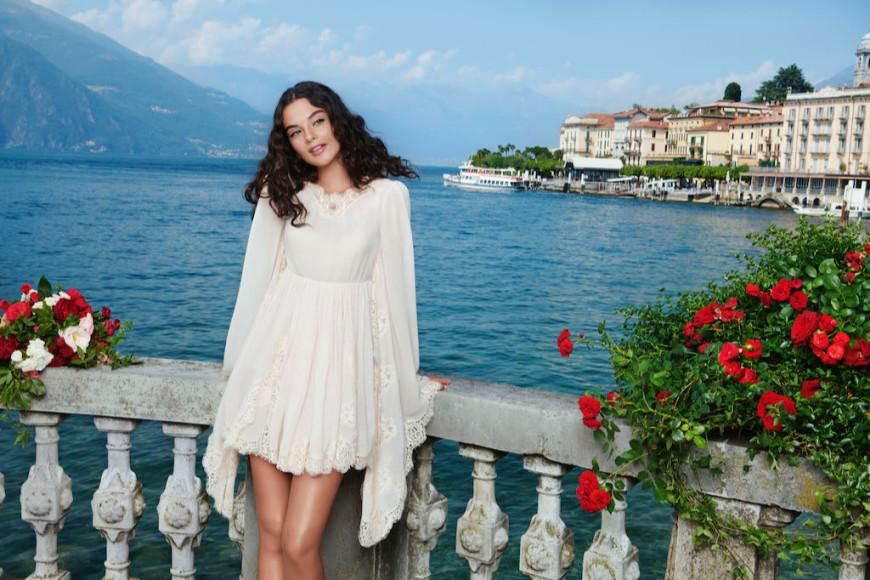 Дева Кассель в рекламной кампании Dolce Shine by Dolce & Gabbana