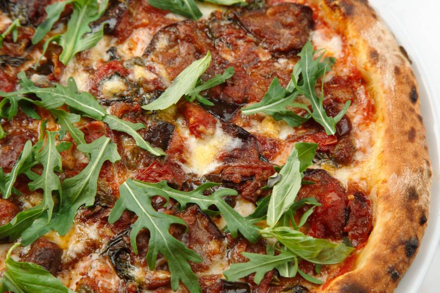 Пицца с капонатой