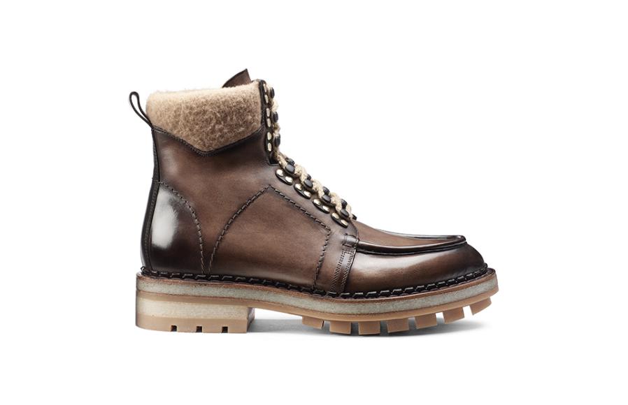 Мужские ботинки Santoni, 102 000 руб. (ЦУМ)