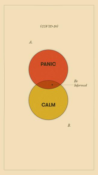 «Паника. Спокойствие. Будьте в курсе»