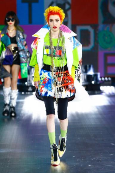 Показ Dolce & Gabbana, сезон осень-зима 2021/22
