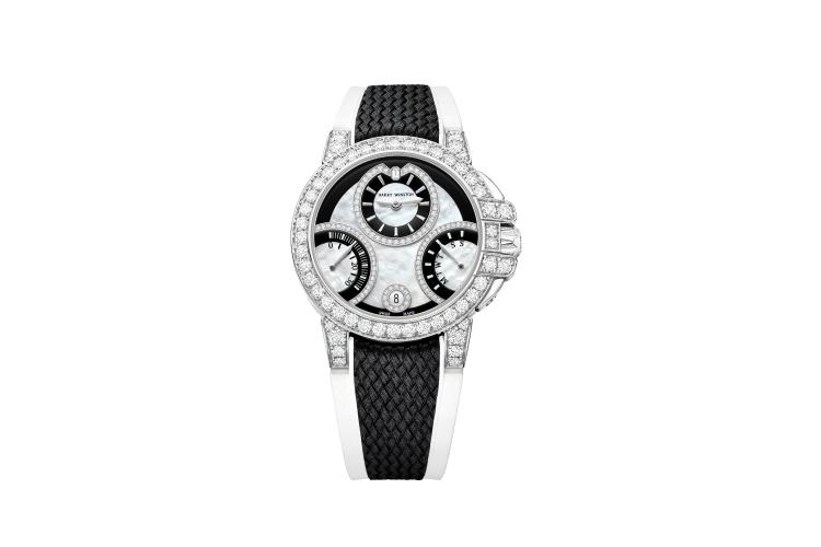 Часы Ocean Biretrograde Black & White Automatic 36mm, Harry Winston