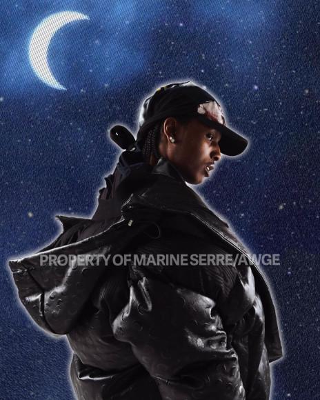 Коллаборация рэпераA$AP Rocky и бренда Marine Serre