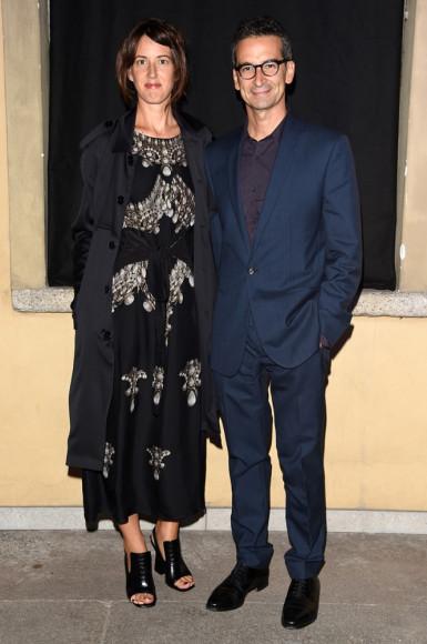 Федерико Маркетти (Yoox и Net-a-Porter) и Кэрри Олсен (Vogue US)