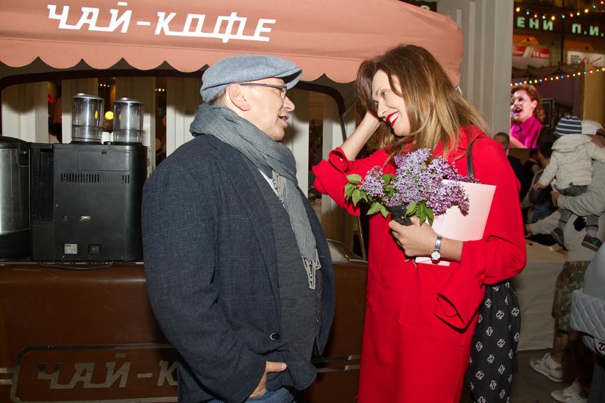 Актеры Игорь Угольников и Ольга Дроздова