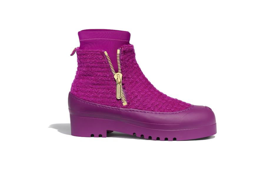 Женские ботинки Chanel, 90 600 руб. (Chanel)