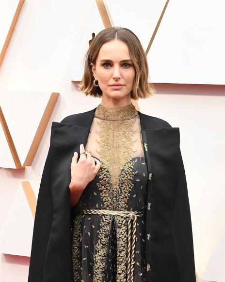 Натали Портман на церемонии «Оскар»
