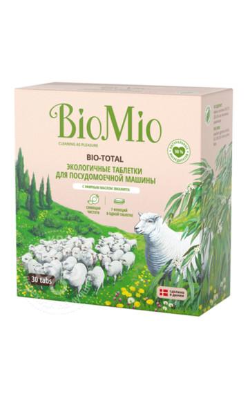 Таблетки для посудомоечной машины,Bio Mio