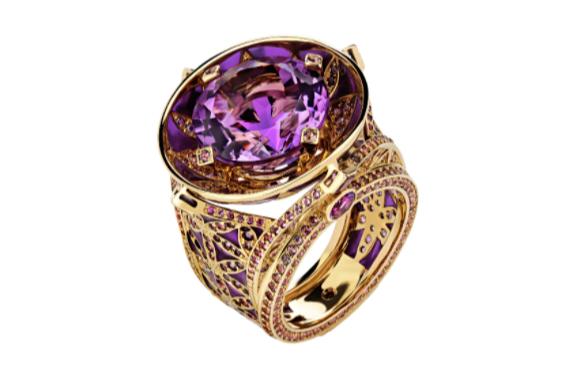 """Кольцо """"Цветок жизни"""", Dzhanelli Jewellery"""