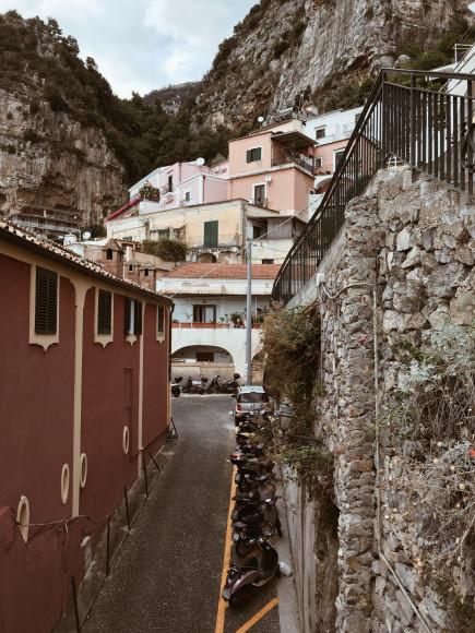 Виды города Позитано