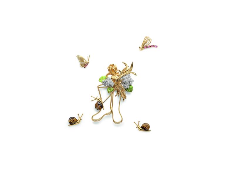 Брошь Garden of Earthly Delights, Chaumet, цена по запросу (Chaumet)