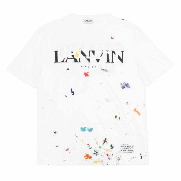 Хлопковая футболка Lanvin x Gallery Dept, Lanvin, 39950 руб. (ЦУМ)