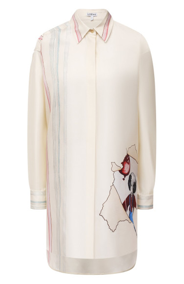 Рубашка Loewe X Joe Brainard, 114 000 руб. (ЦУМ)