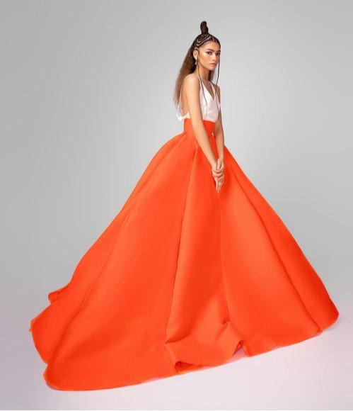 В платье Valentino Couture на церемонии Critic's Choice Movie Awards, 2021