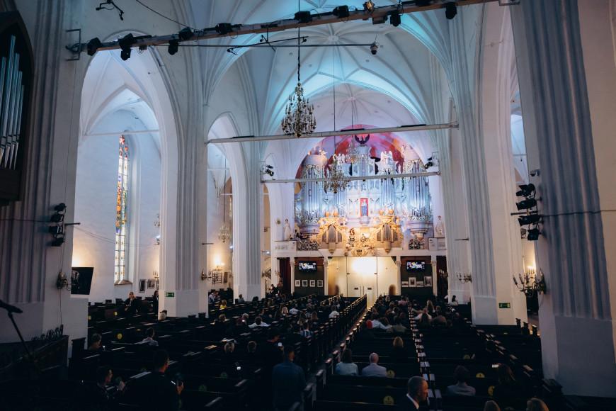 Церемония открытия фестиваля в Кафедральном соборе