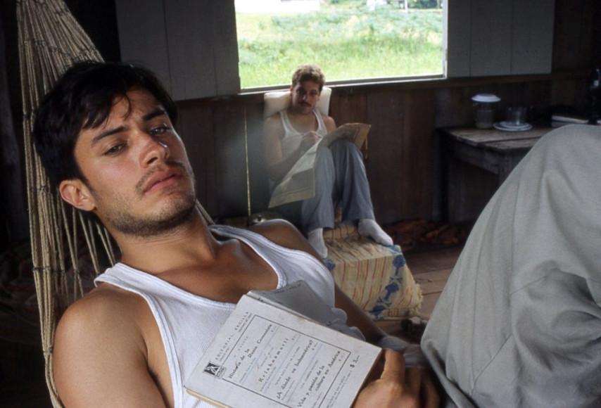 Кадр из фильма «Че гевара: дневники мотоциклиста»