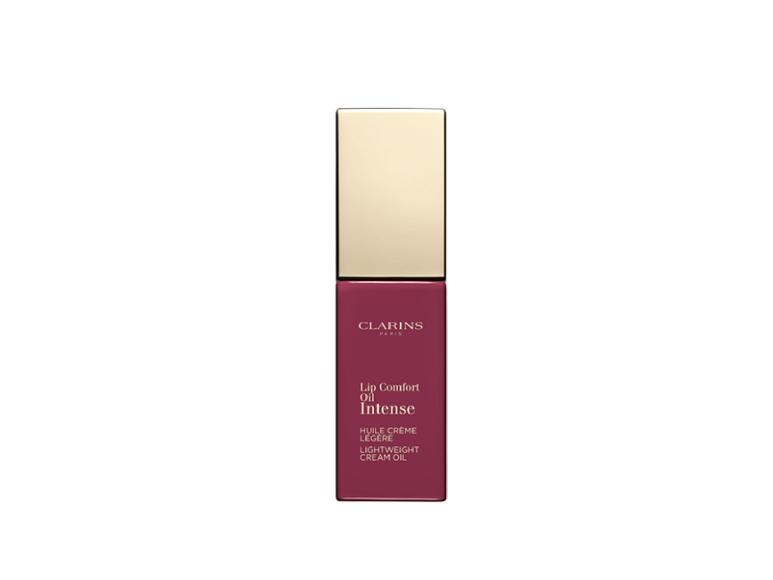Масло-тинт для губ с кремовой текстурой Lip Comfort Oil Intense, Clarins, оттенок 03 Intende Raspberry, 2150 руб. (clarins.ru)