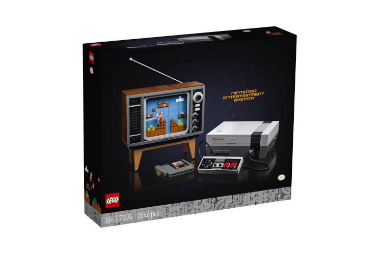Набор Lego с приставкойNintendo Entertainment System