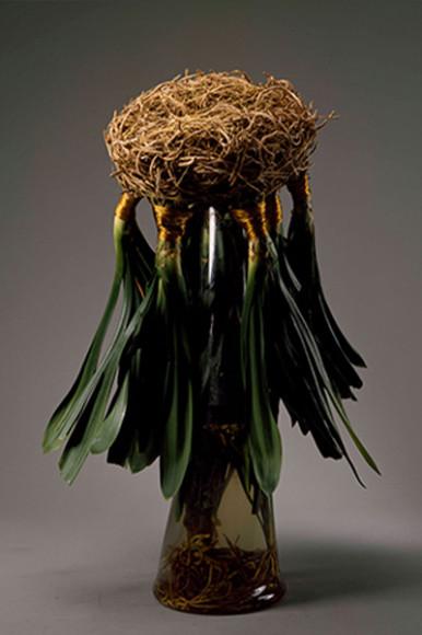 «Дождливая леди гуд-бай», работа из кливии, 1993