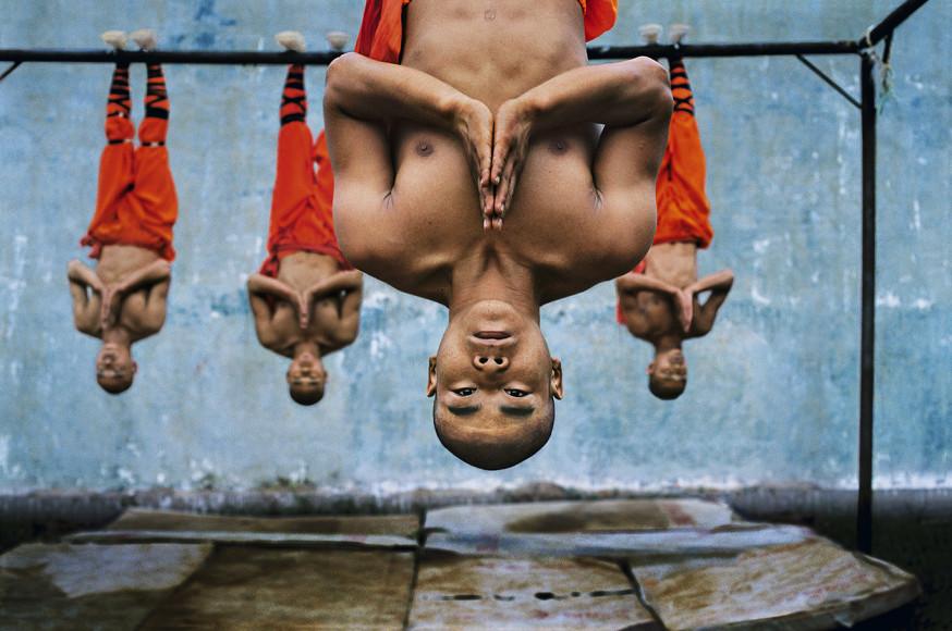 Стив МакКарри. Тренировка шаолиньских монахов. Чжэнчжоу, Китай, 2004