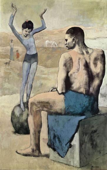 Пабло Пикассо,Девочка на шаре, 1905