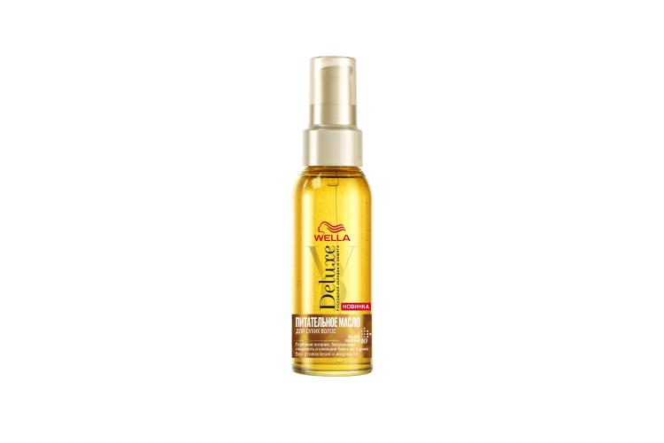 Питательное масло для сухих волос Wella Deluxe, Wella