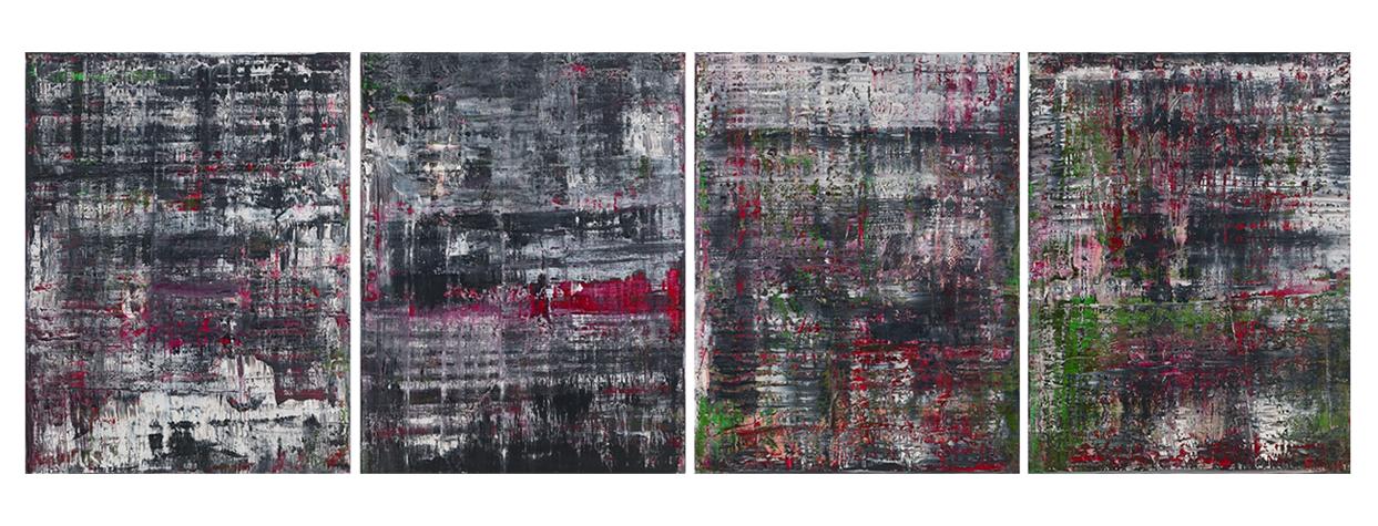 Герхард Рихтер. «Биркенау», 2014