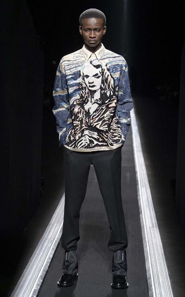 Работа Раймонда Петтибона в коллекции Dior Men, осень-зима 2019/20