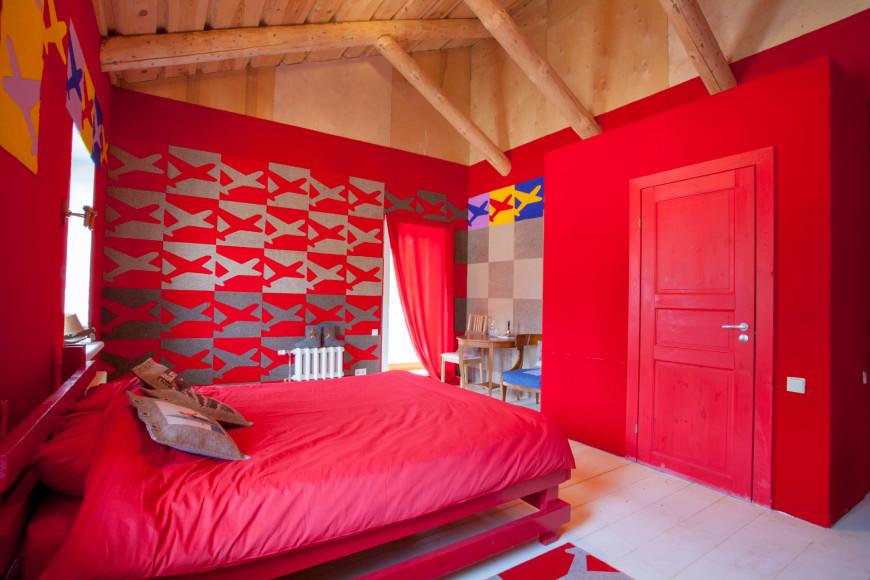 Комната, оформленная Ольгой Солдатовой